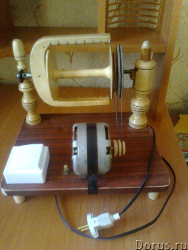 Прялка электрическая - Электромонтаж - Прялка удобная,доступна со всех сторон .Вместимость катушки 2..., фото 1