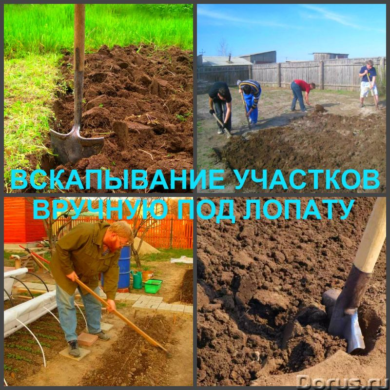 Вспашка, вскапывание и культивация земли, выравнивание участка - Прочие услуги - Вспашка, вскапывани..., фото 3