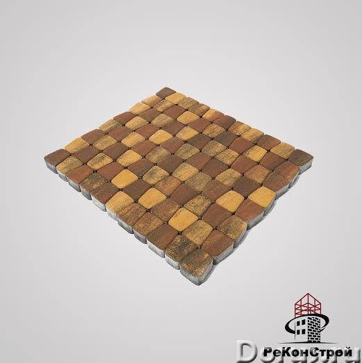 Тротуарная плитка BRAER, Классико круговая, Color Mix 3 Мальва - Материалы для строительства - Троту..., фото 1