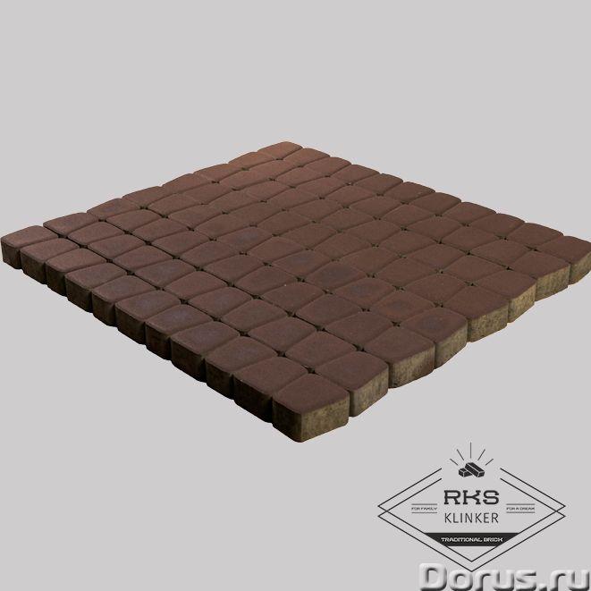 Тротуарная плитка BRAER, Классико круговая, коричневый - Материалы для строительства - Тротуарная пл..., фото 1