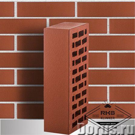 Кирпич облицовочный ЛСР, темно-красный, гладкий, 1НФ - Материалы для строительства - Кирпич облицово..., фото 1
